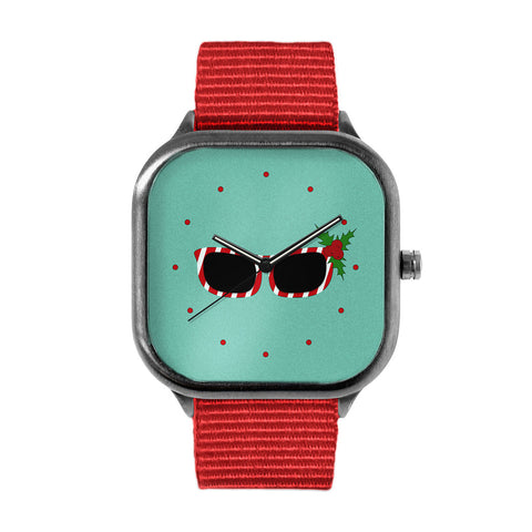 Candycane Sunglasses Watch