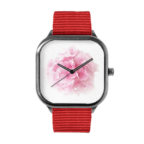 PinkHydrangea Flower Watch