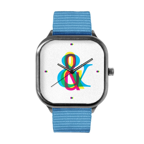 CMYK Ampersand Watch