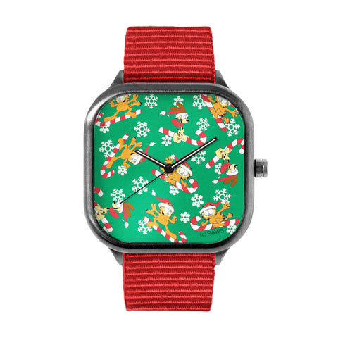 Garfield Candy Cane Watch