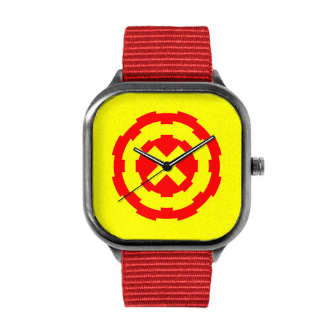 Red Gear Watch