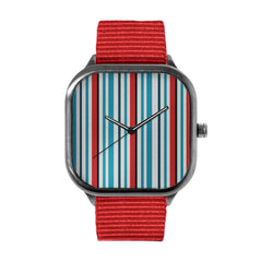 Nautical Stripes Alloy watch