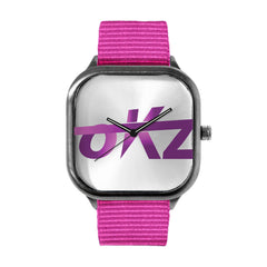 okz Logo Purple Watch
