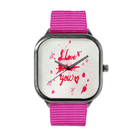 I Love Roses Watch