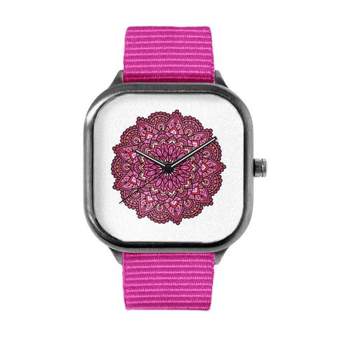 Pink Mandala Watch
