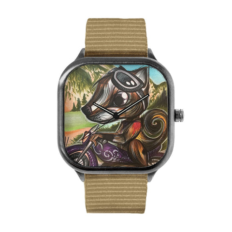 Guntram the Biker Watch