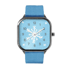 Handdrawn Snowflake Watch