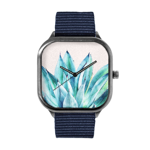 Agave Watercolor Watch