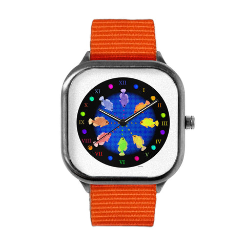 Fish Mandala Watch