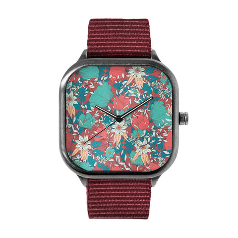 Botanical Pattern 14 Watch