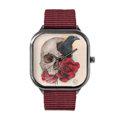 Caveira Flor Corvo Watch