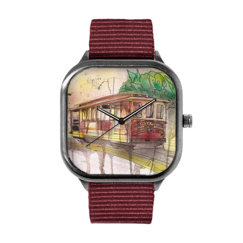 Graffiti Cable Car Watch