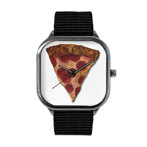 Pepperoni Pizza Watch
