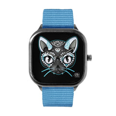 Blue Kitty Watch