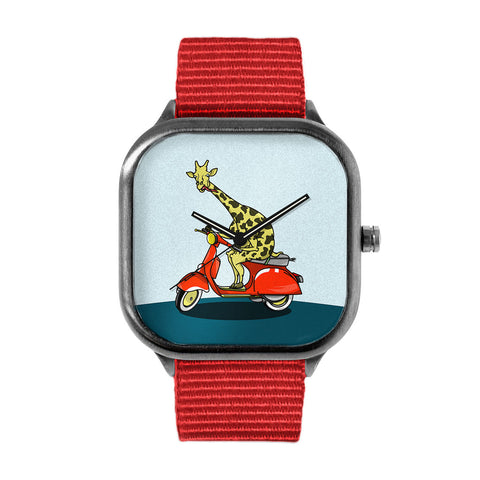 Giraffe Vespa Watch