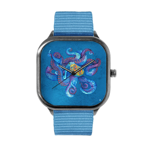 Swirly Octopus Watch