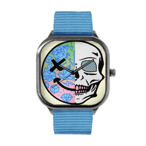 Gradient Skull Watch