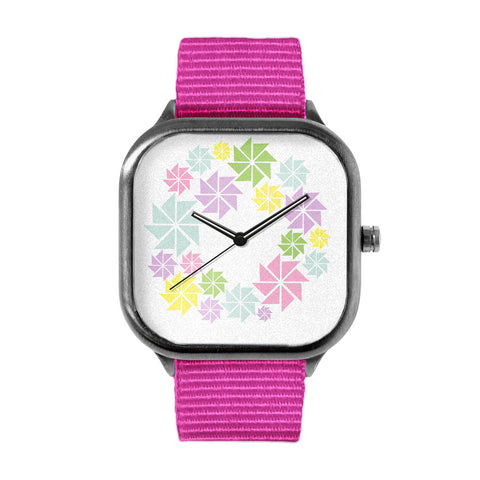 Windmill Wreath Watch