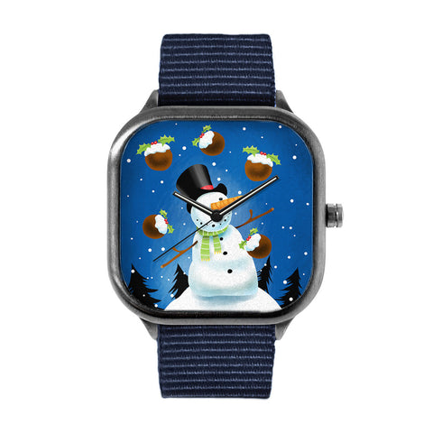 Snowman Juggling Watch
