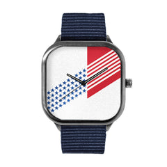 Abstract Flag Watch