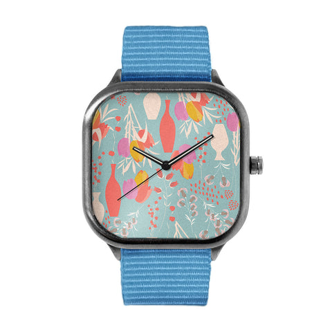 Spring Pattern Watch