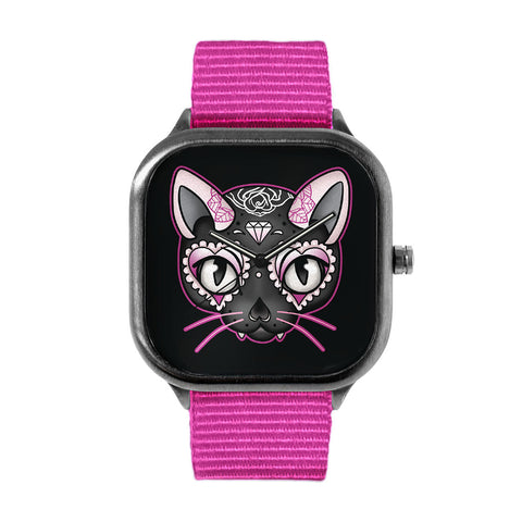 Day of the Dead Kitty Watch