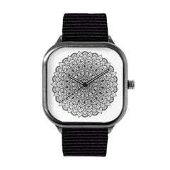 Black and White Mandala Watch
