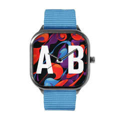 Swirly Pattern Watch