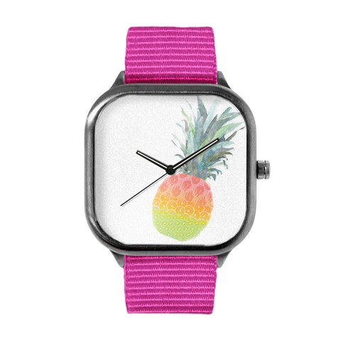 Rainbow Fruit Pineapple Watch