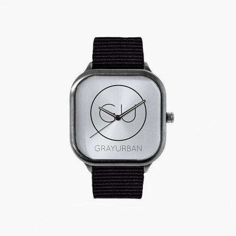 Gray Urban Logo Watch