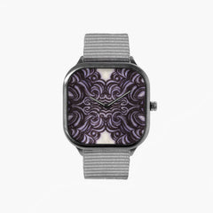 All in Good Time Warp Sketch Watch with an Gray Strap
