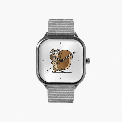 Stanley Happy Watch with a Grey Strap