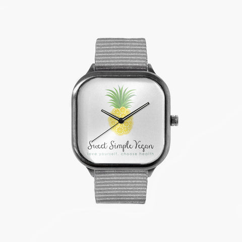 SSV Logo Watch with a Grey Strap