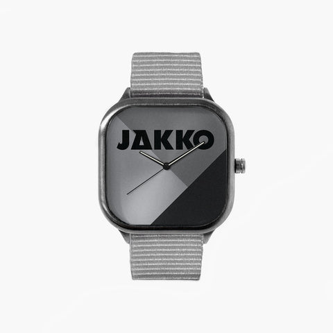 Jakko Greyscale Watch with a Grey Strap