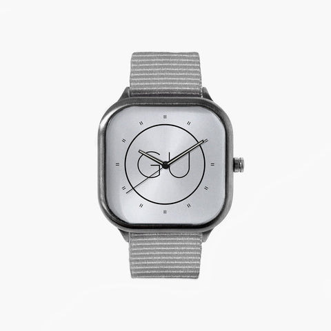 Gray Urban Icon Watch with a Grey Strap