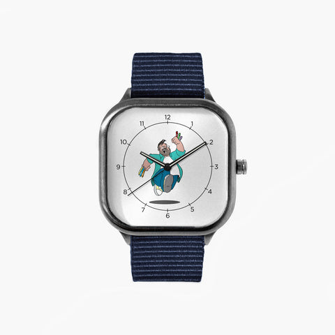 Balkenatore Jumping Watch with a Navy Strap