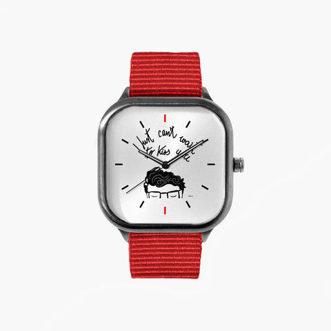 Villaraco Can't Wait to Kiss You Watch with a Red Strap