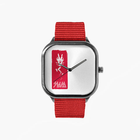 Sum Second Insignia with a Red Strap