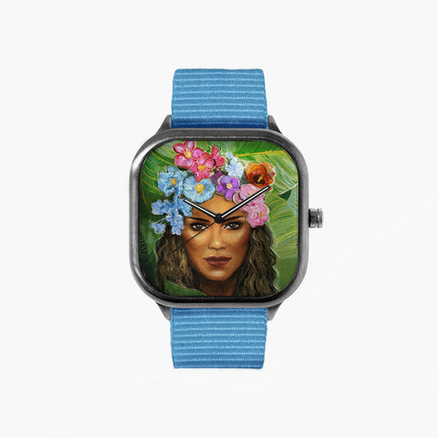Flora Woman Watch