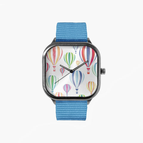 Balloon Time Watch with a Sky Blue Strap