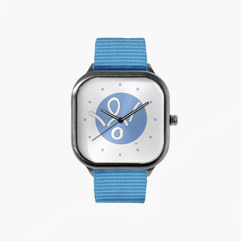 No Stomach For Cancer Circle of Hope Watch with a Sky Blue Strap