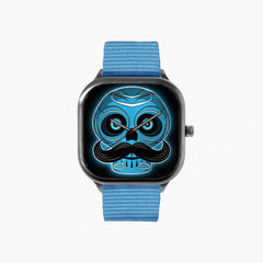Blue Skull Watch