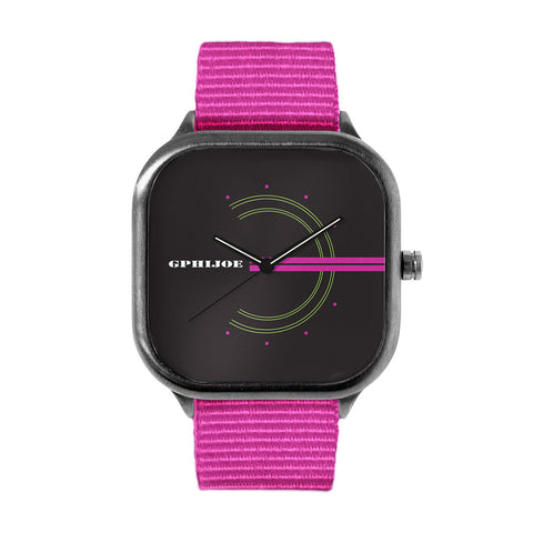 GPhiJoe Pink Watch