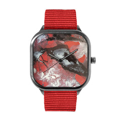 Black and Red Watch