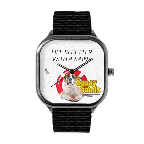 Better with a Saint Watch