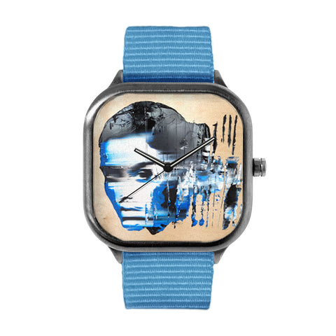 Blue Timeflight Watch