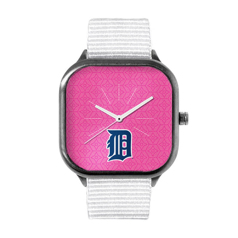 Pink Detroit Tigers Watch