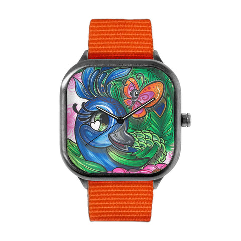 Pretty Peacock Watch