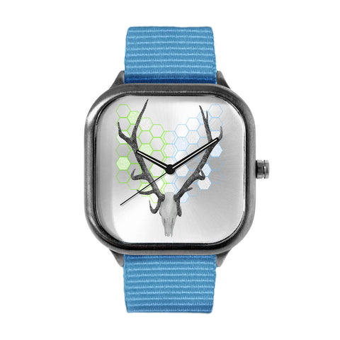 Stag head Geo Watch