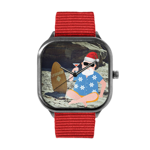 Santa Lifeguard Watch